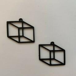 IMG_20210117_121853.jpg Descargar archivo STL gratis Pendiente de cubo • Objeto imprimible en 3D, koukwst