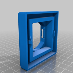 4280d025538e0c20a98f8e92648500c9.png Download free STL file Busch & Jäger Futureline Adapter für IKEA TRÅDFRI • 3D printer design, tidet