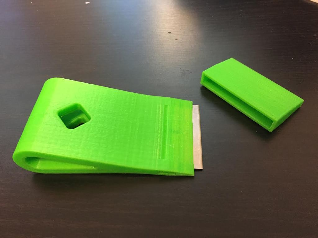 thin1.jpg Download free STL file Scraper With Cap • 3D printing template, alexberkowitz