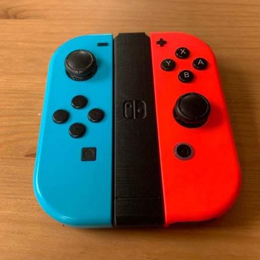 Download free STL file Nintendo Switch Portable Joy Con Connector • 3D print object, alexberkowitz