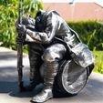 3D printing model Soldier screaming, Gut