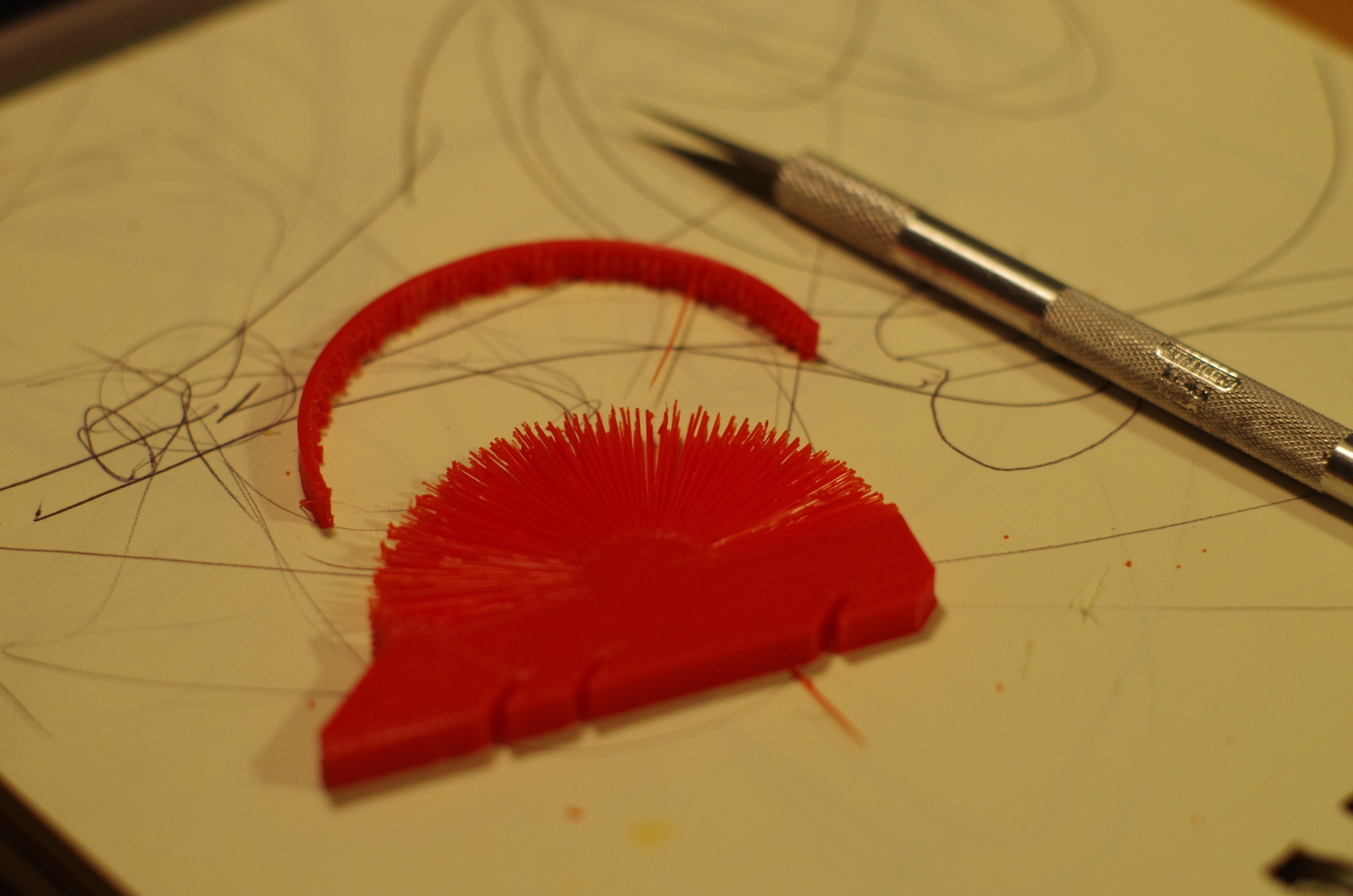IMGP9933.jpg Télécharger fichier STL gratuit Hedgehog with spikes (hairy print) • Modèle pour imprimante 3D, llaffa