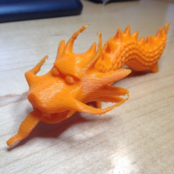 Free 3d printer model Dragon Old School, llaffa