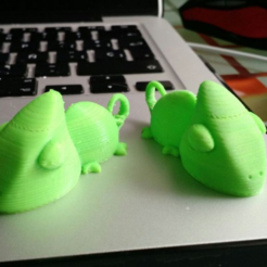 Download free STL file Camaleon / Chameleon • Object to 3D print, llaffa