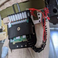 116790095_10158606954393119_1010940393116453623_o.jpg Télécharger fichier STL S.O.S. Fantômes - l'ultime gadget de ceinture avec une carte fille • Plan imprimable en 3D, mrkiou