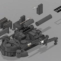 PSX_20200828_231332.jpg Télécharger fichier STL gratuit Ghostbusters movie accurate proton pack • Design imprimable en 3D, mrkiou