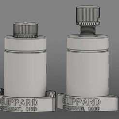 Descargar modelo 3D gratis Cazafantasmas - válvulas de recorte, drkiou