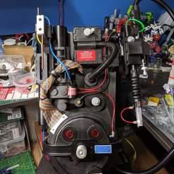 Impresiones 3D gratis La película de los Cazafantasmas es un paquete de protones preciso, slinkbe