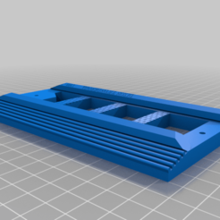Imprimir en 3D gratis Cazafantasmas - detallada escalera de refuerzo para el paquete de protones, drkiou