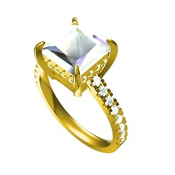 3D print model Jeaelry 3D CAD Model For Wedding Ring, VR3D