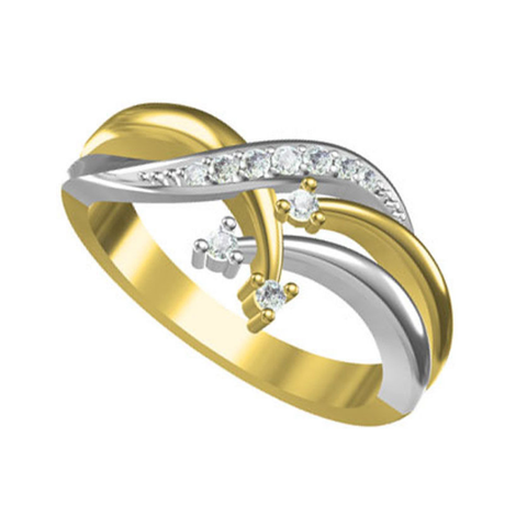 Download free STL file 3D Jewelry CAD Model Of Beautiful Wedding Ring In JCD Format • Object to 3D print, VR3D