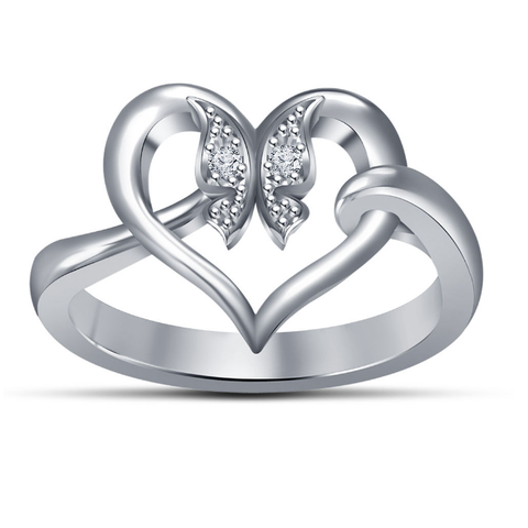 Free 3d print files 3D Jewelry CAD Model For Heart Ring In JCD Format, VR3D