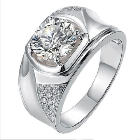 Download STL file Mens Special Wedding Ring In STL Format, VR3D