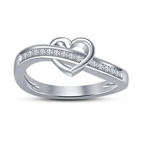 Descargar archivos 3D Modelo CAD 3D para anillo de corazón hermoso, VR3D