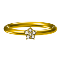 Download free 3D printer designs 3D Jewelry CAD Model Of Wedding Ring, VR3D
