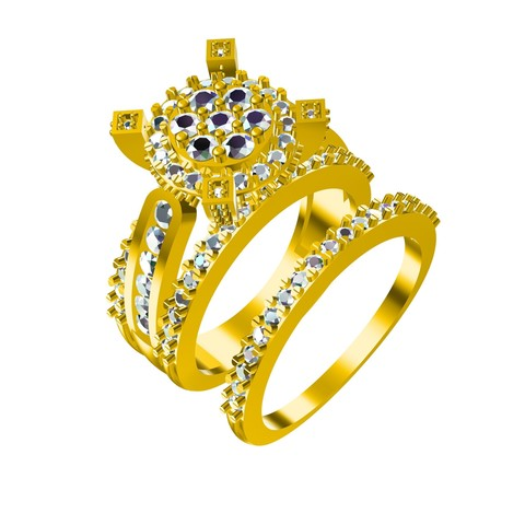 Download STL files Jewelry 3D CAD Model In STL Fromat, VR3D
