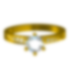 Free Jewelry 3D CAD Model Womens Engagement Ring 3D model, VR3D
