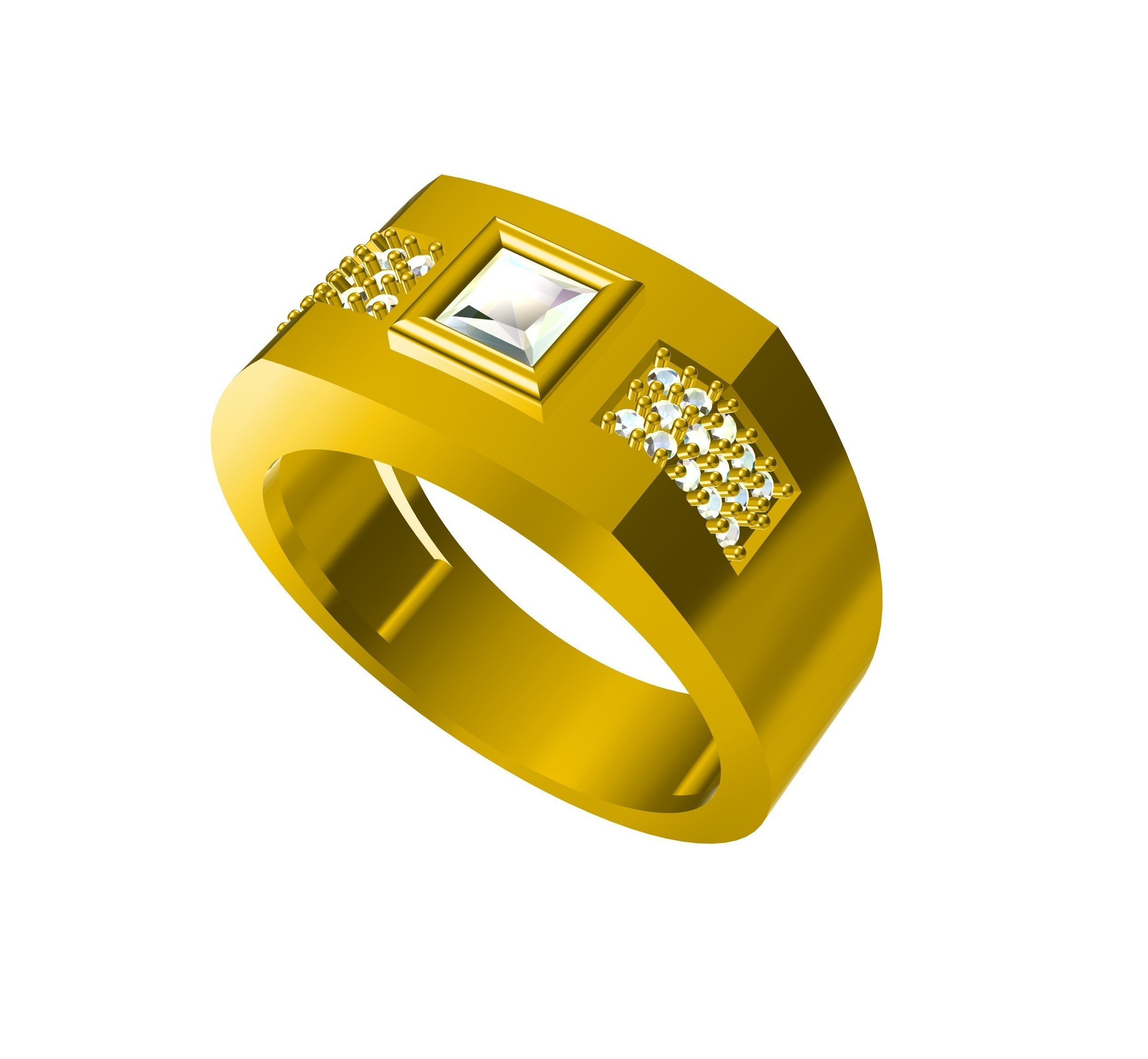 KR00022 2 - Copy.jpg Download free STL file FREE !! jewelry 3D CAD Model Mens Ring • Design to 3D print, VR3D