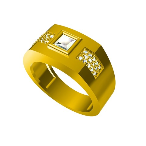 Free stl FREE !! jewelry 3D CAD Model Mens Ring, VR3D