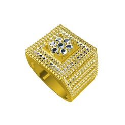 3D printer models Jewelry 3D CAD File Of Gents Ring, VR3D
