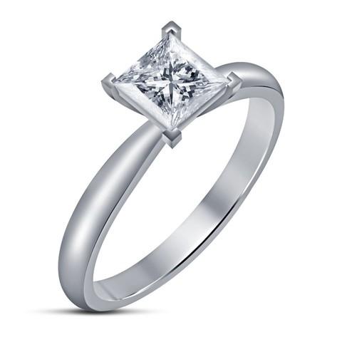 Download 3D printer designs Engagement Ring 3D CAD Design In STL Format, VR3D