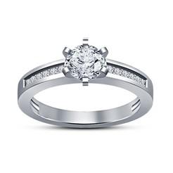 Descargar archivos STL 3D modelo de joyería CAD de anillo de boda hermosa, VR3D