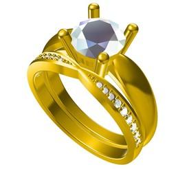 Descargar modelos 3D Joyería 3D Archivo de CAD Wedding Nupcial Ring Set, VR3D