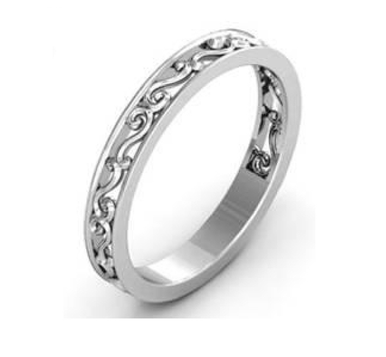 RG26146 - Copy.jpg Télécharger fichier STL gratuit Fichier CAD de bijoux 3D de la bande pour femme • Modèle à imprimer en 3D, VR3D