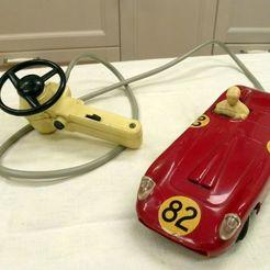 Télécharger STL Volante Domo Ferrari del 1954 - Volant Domo Ferrari, Fly3D