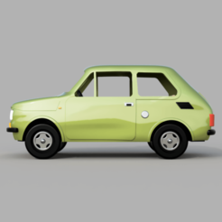 Fiat_126_V5_2020-Mar-15_09-23-15AM-000_CustomizedView18836171924.png Download STL file Fiat 126p • 3D print design, kabecz