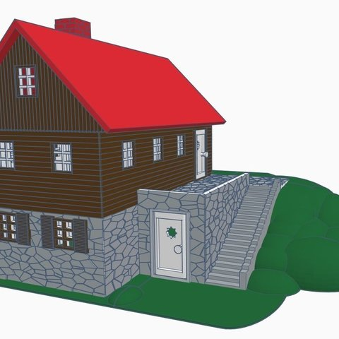 Download free 3D printing models Cottage in the garden ・ Cults