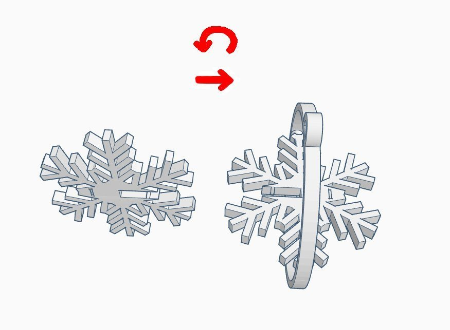 0094c3529f5e8398436e575cb268fd49_display_large.jpg Download free STL file Snowflake • 3D printable object, kabecz