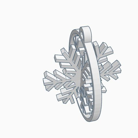 Download free 3D model Snowflake, kabecz