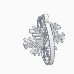 Free 3D printer model Snowflake, kabecz