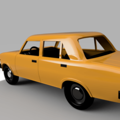 Download STL file Lada 2105 Riva • 3D printer object, kabecz