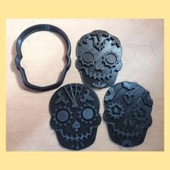 WhatsApp Image 2020-11-10 at 5.17.22 PM.jpeg Download STL file sugar skull cookie cutter • Template to 3D print, JavierYoldi