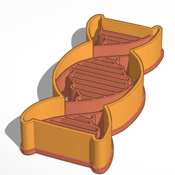 Download 3D printing templates DNA Cookie Cutter, JavierYoldi