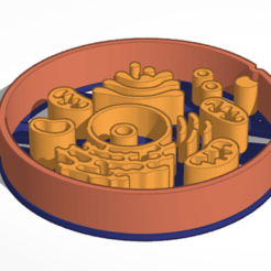 Download 3D print files Cookie Cutter Human Cell, JavierYoldi