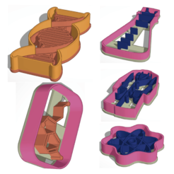 Download 3D printing files Cookie Cutter Scientific, JavierYoldi