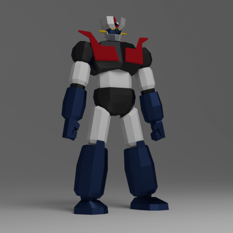 Descargar archivo 3D gratis Mazinger, KernelDesign