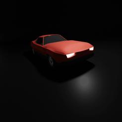 Impresiones 3D gratis Mustang lowpoly, KernelDesign