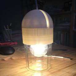 Capture d'écran 2017-06-03 à 07.47.30.png Télécharger fichier STL gratuit Lampe pot de confiture • Plan imprimable en 3D, KernelDesign
