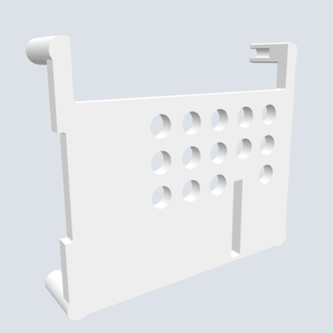 Download free 3D printing files Raspberry Pi B 1,2,3 housing