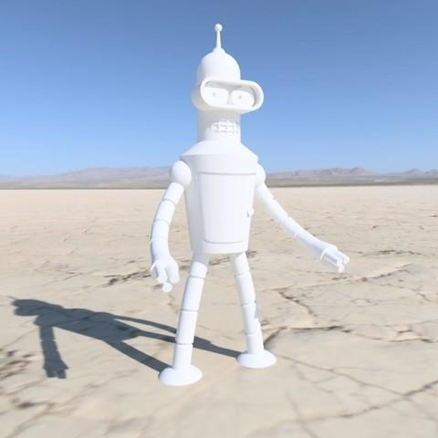 Download free STL file Bender Rodriguez • Object to 3D print, KernelDesign