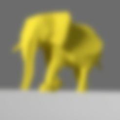 STL gratuit Éléphant, KernelDesign
