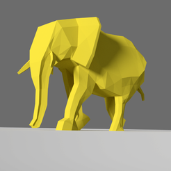 Free STL Elephant, KernelDesign