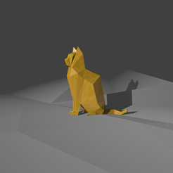 fichier imprimante 3d gratuit Chat, KernelDesign