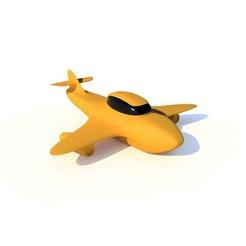 Avion.jpg Télécharger fichier STL gratuit Avion Yper Z 3D • Objet imprimable en 3D, KernelDesign