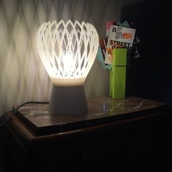 Plan 3D gratuit Lampe Gothique contemporaine, KernelDesign