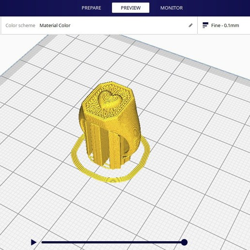 slicing.jpg Download free STL file CRUSH LOVE CHEVALIER RING • 3D printable object, Genny